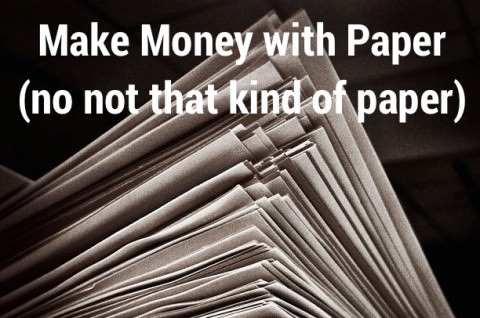 make money with paper