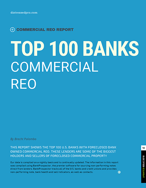 Top 100 Banks Commercial REO