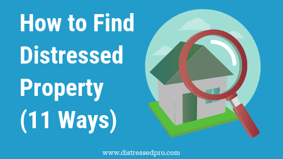 Find Distressed Property