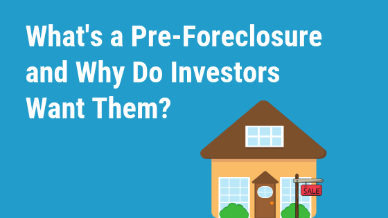 what is a pre foreclosure